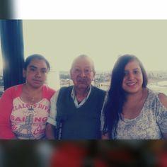 Abuelo, Nieta y Prima #Family #Unica #Momentos