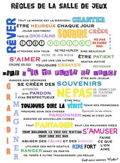 Fait avec amour... *Cako*: Projet grenier -2- Les murs Montessori Room, Kids Poster, Poster Pictures, First Day Of School, Kids And Parenting, Interior Design Living Room, Home Deco, Playroom, Kids Room