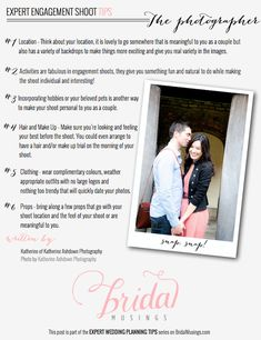 If you're planning your engagement shoot this is a must read! >> Engagement Shoot Tips For Couples