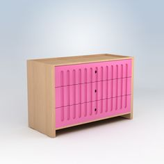 Drawer Dresser - LOVE this, it's so PINK!! <3