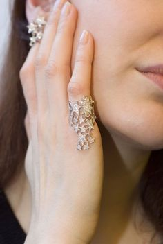 Diamond Rings : Pamela Hastry, the designer and the founder of Morphée Joaillerie, speaks to…. - Buy Me Diamond Diamond Jewelry, Diamond Earrings, Silver Jewelry, Fine Jewelry, Unique Jewelry, Jewelry Rings, Handmade Jewellery, Silver Ring, Pandora Jewelry