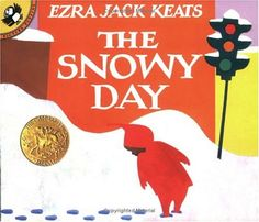 I think I was first read this one when I was in preschool.  I always thought the little boy had the oddest coat with that pointy-pointy hood.  Most of the time, I had to enjoy the snow vicariously through his adventures since it is so warm here, but I got some good snow angels and footprint trails in my childhood too.