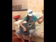 """""""Там за туманами"""" на гитаре Макси сестра Rasha_Mc"""
