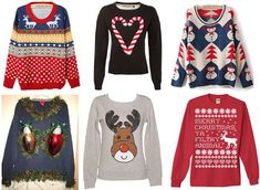 Tacky christmas sweaters