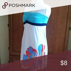 Sun Dress Note no size tag. Fits like a Large Ocean Drive Dresses