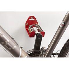 För smart förvaring Perfekt att ha i garaget eller källaren för förvaring av din cykel när den inte används. Du frigör även yta på golvet när du har den u