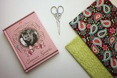 Как сшить обложку из ткани своими руками. Обложка для блокнота / Мастер-класс