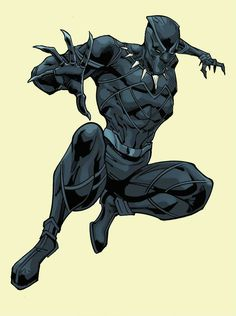 Black Panther by J.L. Giles