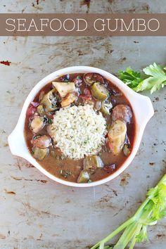 Seafood Gumbo via @Sheena Birt Birt Tatum (Sophistishe.com)