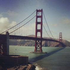 Golden Gate Bridge :opened on May 27, 1937. It had the longest suspension bridge main span in the world. #california  (στην τοποθεσία Golden Gate Bridge)