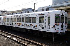 Wakayama Electric Railway Tama Densha (cat train)