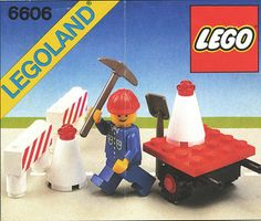 This may or may not have been the first LEGO set I was given. My mind is strong with memory...but not that strong
