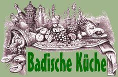 Badische Küche - Inhaltsverzeichnis der Rezepte