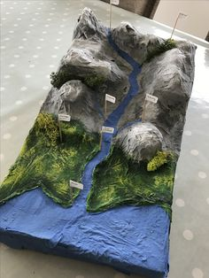 The water cycle School Science Projects, Science Activities For Kids, Science Classroom, Projects For Kids, Geography For Kids, Teaching Geography, Diaroma Ideas, Volcano Projects, Science Models