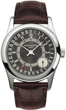 Patek Philippe Calatrava 37mm (Style No: 6000G-010) from SwissLuxury.Com