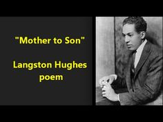 """Mother to Son"" Langston Hughes poem GREAT  Viola Davis voice--then POET..."