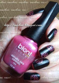 esmalte Blant para carimbo rosa