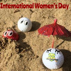 Olympic Golf, Ladies Day, Golf Clubs, Christmas Bulbs, Holiday Decor, Christmas Light Bulbs