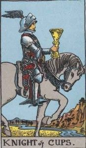 Knight of cups - Tarot card Meaning ⋆ Tarot ExplainedTarot Explained