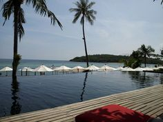 Anantrara on Koh Samui, sister resort to where we stayed on Koh Phangnan.  They let us hang our and swim here for three hours instead of taking us to the airport right away.
