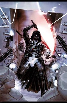 Star Wars - Darth Vader by Agustin Alessio *