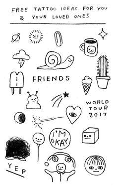 The Illustration of Hiller Goodspeed: Photo Holz Tattoo, Kritzelei Tattoo, Doodle Tattoo, Get A Tattoo, Mini Tattoos, Body Art Tattoos, Small Tattoos, Tatoos, Black Art Tattoo