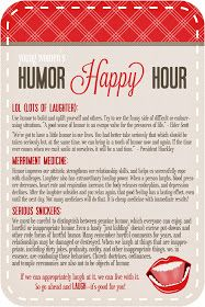 Life.Design. and the Pursuit of Craftiness: YW's Humor Happy Hour