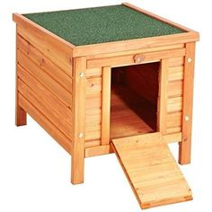 Wooden Small Pet House Luxury Puppy Dog Cat Rabbit Indoor Outdoor Garden Home UK