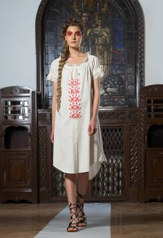 Adrian Oianu romanian design First ten steps Collection Needlework, Cold Shoulder Dress, Outfits, Collection, Dresses, Design, Fashion, Embroidery, Vestidos
