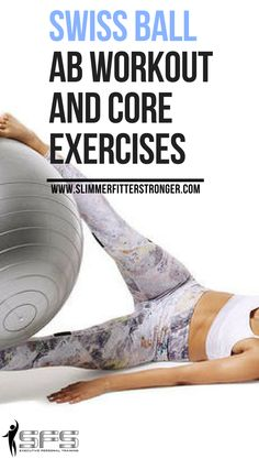 Swiss ball ab workout and core exercises Try these swiss ball ab workout and core exercises. 6 Pack Abs Workout, Abs Workout For Women, Ab Workout At Home, Tone Up Workouts, Easy Workouts, Swiss Ball Exercises, Core Exercises, Burn Belly Fat Fast, Best Abs