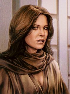 Jaina Solo - The daughter of Han Solo and Leia Organa Solo, and Jacen Solo's twin sister. Jedi Knight.