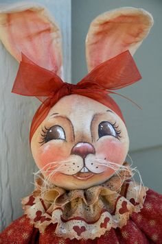Primitive Bunny Rabbit Pattern PDF epattern by SweetBearCreekWhims, $8.50