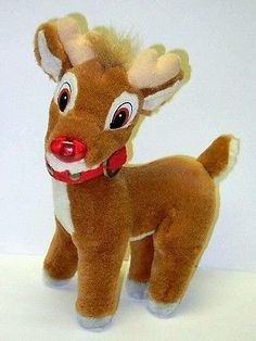 Play By Play Stuffed Plush Rudolph The Red Nosed Reindeer Christmas Deer Animal