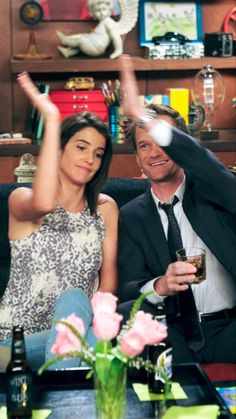 robin scherbatsky and barney stinson how i met your mother Ted And Robin, Barney And Robin, All Movies, Series Movies, Movies And Tv Shows, Netflix Series, How Met Your Mother, Robin Scherbatsky, Tv Show Couples