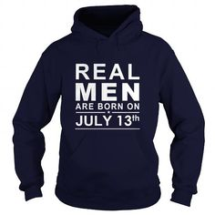 I Love 0713 July 13 Birthday Born Real Men Shirts Guys tee ladies tee youth Sweat Hoodie Vneck Tank top Tshirts for Girl and Men and Family Shirts & Tees