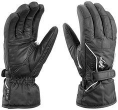 NEW LADIES TRESPASS THERMAL WINDPROOF GLOVES WHITE BLACK SIZES LARGE XL