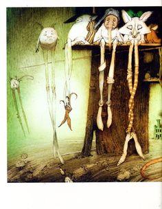 "shaltay0boltay: Г.Уэллс. ""Волшебная лавка"" (илл.К.Челушкина)"