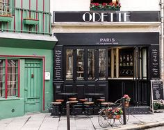 Paris Photography Pastry Shop Patisserie Odette