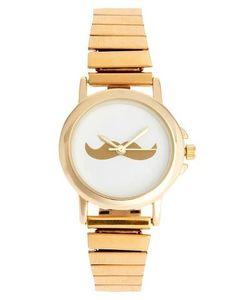 mustache stile watch