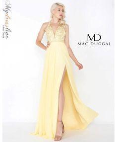 06c521ce47 Mac Duggal 79185M prom 2018 evening collection dress. Beaded Chiffon