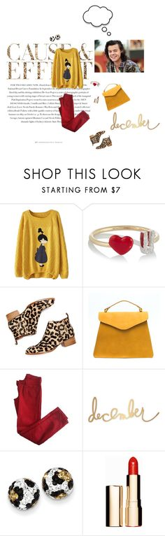 """Harry's Style"" by fuffa ❤ liked on Polyvore featuring Envi:, Alison Lou, Jeffrey Campbell, Comptoir Des Cotonniers, Heidi Swapp, Kevin Jewelers and Clarins"