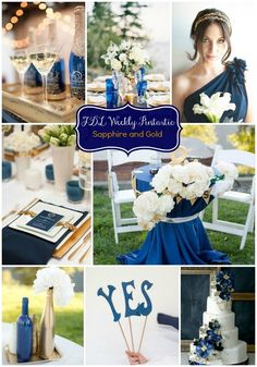 Sapphire and Gold wedding, blue and gold wedding, wedding ideas, Pensacola Wedding Planner, Fluer de Lis Event Consulting