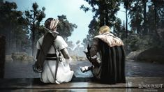 Florentino Ibarra and Orwen at Atanis Pond - An Unexpected Reunion — Black Desert Online SEA Philippines: Stories – Black Sun Tell My Story, Love Story, Black Desert Online, Slack Off, Up To The Sky, Still In Love, Waiting For Him, My Cousin, Romance Novels