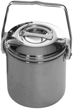 Zebra Loop Handle Pot Stainless Steel (10 cm)
