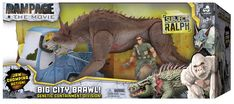 New Rampage The Movie Toys From Lanard Toys Revealed Gi Joe, Rampage Movie, Spiderman Action Figure, Godzilla 2, Silverback Gorilla, O Pokemon, Sideshow Collectibles, King Kong, How To Train Your Dragon