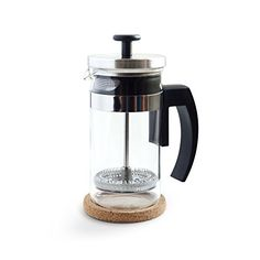Brillante Small French Press Coffee Maker with 12 Ounce / 3 Cup Glass Beaker - Single Serve Cafetiere and Tea Maker >>> You can get more details by clicking on the image. (This is an affiliate link and I receive a commission for the sales) How To Make Coffee, Coffee Love, Best Coffee, Coffee Shop, Coffee Brewer, Coffee Cups, Coffee Tables, French Press Coffee Maker, Bulletproof Coffee