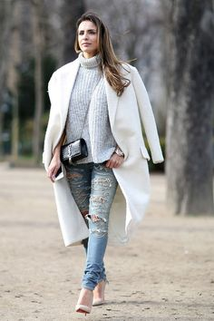 Winter Outfits That Make Legs Look Longer and Slimmer | StyleCaster