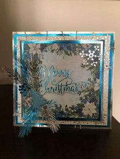 Winter Cards, Holiday Cards, Crafters Companion Christmas Cards, Embossing Machine, Xmas, Christmas Ideas, Cool Cards, Winter Holidays, Winter Collection