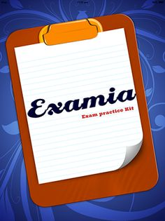 Examia - General Knowledge Exam Kit app helps you in preparing for competitive exams, Job Exams , Quiz Shows etc . The app is available for your all type of android devices.