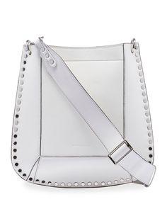 7642a8dfbdde69 Oskan New Studded Leather Hobo Bag #leatherhobobags Deer Skin, Hobo  Handbags, Studded Leather